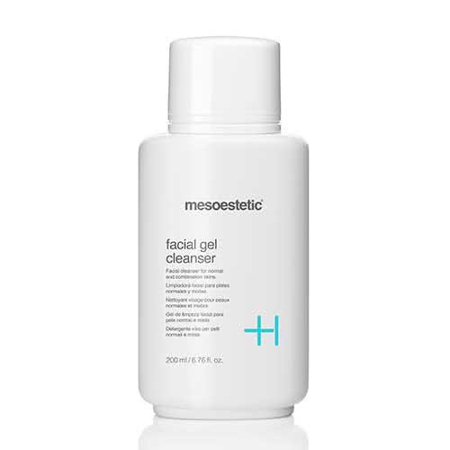 mesoestetic facial gel cleanser