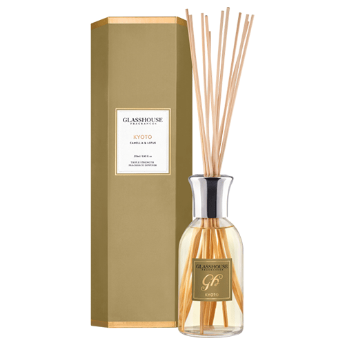 Glasshouse Kyoto Diffuser - Camellia & Lotus by Glasshouse Fragrances