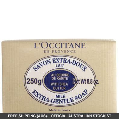 L'Occitane Extra-Gentle Milk Soap with Shea  by loccitane