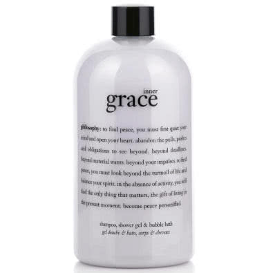 philosophy inner grace shampoo, bath & shower gel