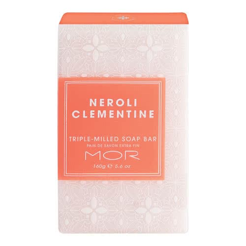MOR Triple-Milled Soap Bar - Neroli Clementine by MOR