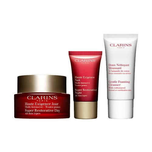 Clarins Super Restorative Essentials Skin Trio Set by Clarins