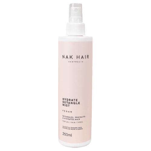 NAK Hair Hydrate Detangle Mist 250ml by NAK Hair