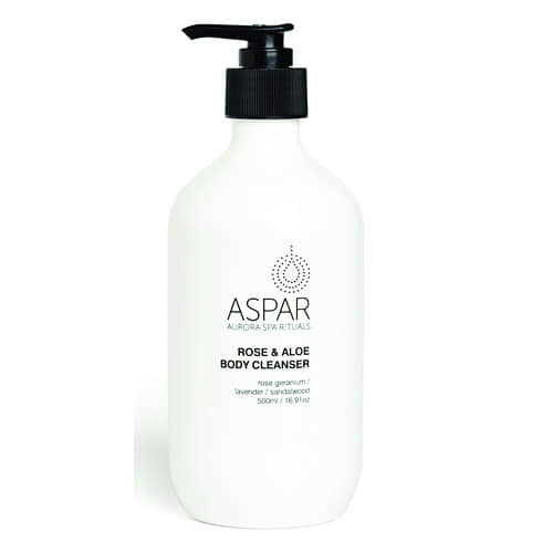 ASPAR Rose & Aloe Body Cleanser by ASPAR
