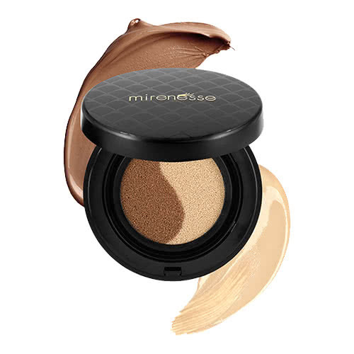 Mirenesse 10 Collagen Cushion Custom Liquid Colour Face Glow - Caramel by undefined