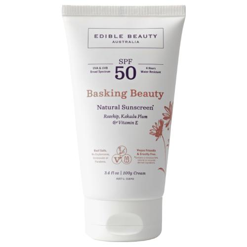 Edible Beauty Basking Beauty Natural Sunscreen 100g by Edible Beauty