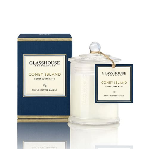 Glasshouse Coney Island - Burnt Sugar & Fig 60g by Glasshouse Fragrances
