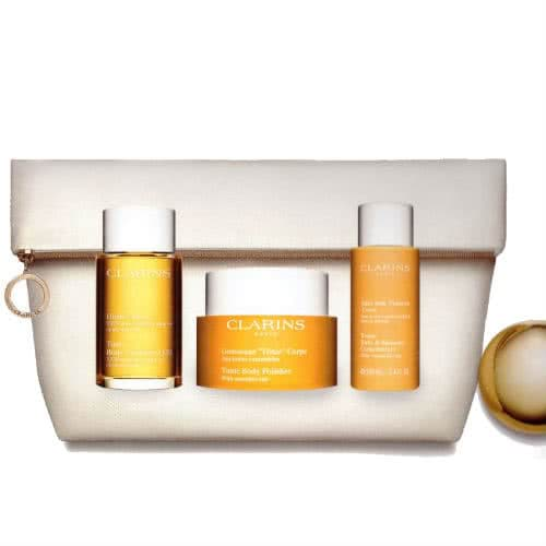 Clarins Invigorating Daily Treatments Set - Toning Collection by Clarins