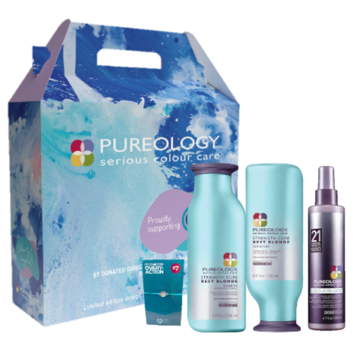 Pureology Strength Cure Best Blondes Trio Pack