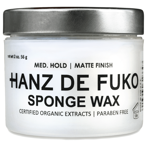 Hanz De Fuko Sponge Wax (Medium Hold) by Hanz De Fuko