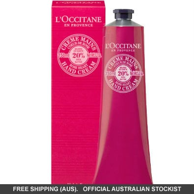 L'Occitane Shea Butter Rose Heart Hand Cream – Limited Edition by loccitane