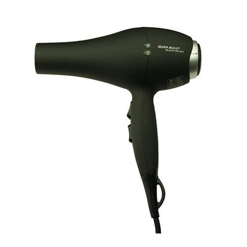 Silver Bullet Black Velvet Dryer 2000W - Black