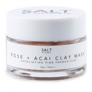 SALT BY HENDRIX Rose + Acai Face Mask 30g