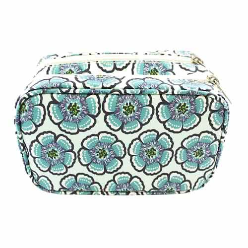 Tonic Medium Makeup Bag - Flora Sea Green by Tonic