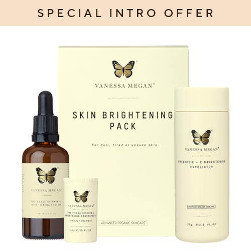 Vanessa Megan Brightening Skin Pack