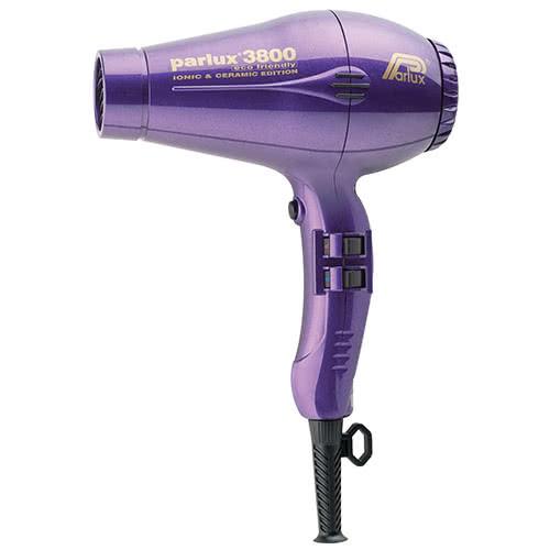 Parlux 3800 Ceramic/Ionic Hairdryer - Purple