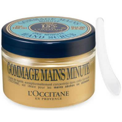 L'Occitane One Minute Hand Scrub with Shea Butter by L Occitane