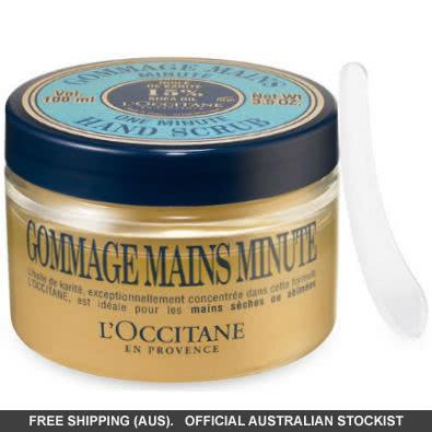 L'Occitane One Minute Hand Scrub with Shea Butter by loccitane