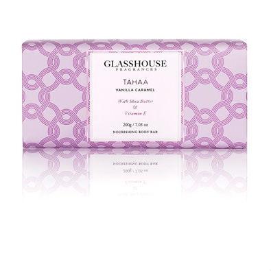 Glasshouse Tahaa Nourishing Body Bar - Vanilla Caramel  by Glasshouse Fragrances