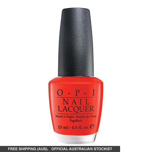 OPI Nail Lacquer - Australia Collection, Tasmanian Devil Made Me Do It by OPI color Tasmanian Devil Made Me Do It