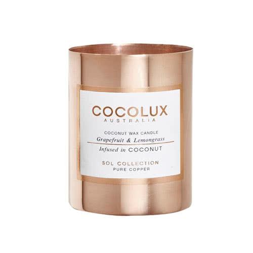 Cocolux Candle – Grapefruit & Lemongrass 150g by Cocolux Australia