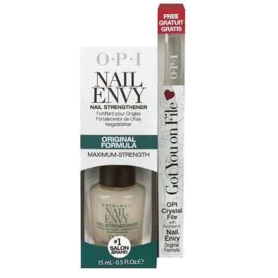 OPI Nail Envy - Original Formula + FREE OPI Crystal Nail File
