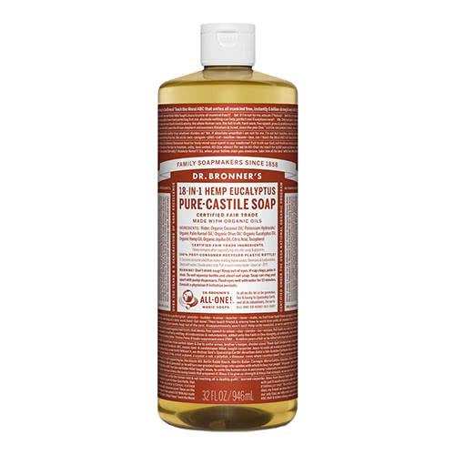 Dr. Bronner Castile Liquid Soap - Eucalyptus 946ml by Dr. Bronner's