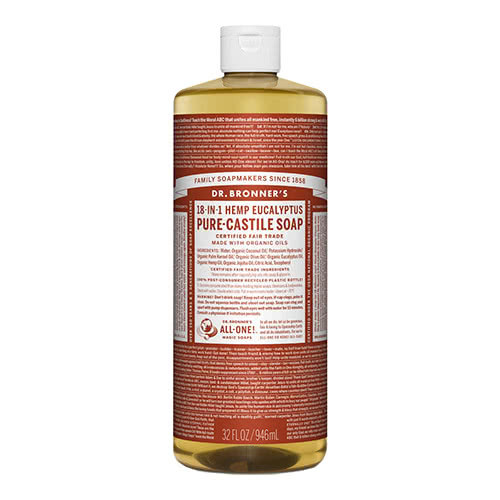 Dr. Bronner Castile Liquid Soap - Eucalyptus 946ml