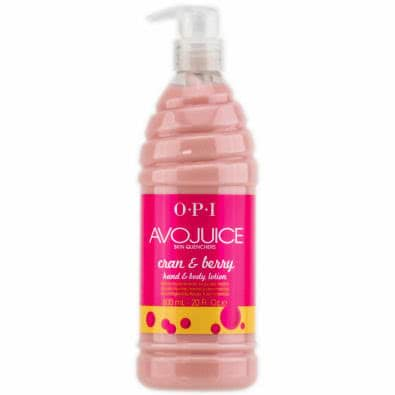 OPI Avojuice Lotion 600ml - Cran + Berry - Cran + Berry by OPI color Cran + Berry