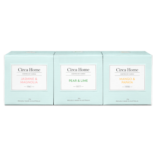 Circa Home Miniature Soy Candle Trio by Circa Home Candles & Diffusers