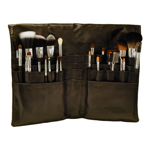 Kryolan Silver Handle Brush Set - 25 Piece by Kryolan