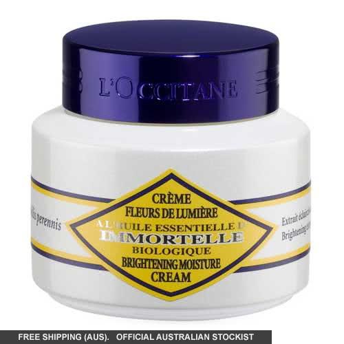 L'Occitane Immortelle Brightening Moisture Cream by loccitane