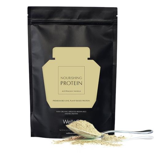 WelleCo Nourishing Plant Protein Refill Pack 300g - Vanilla