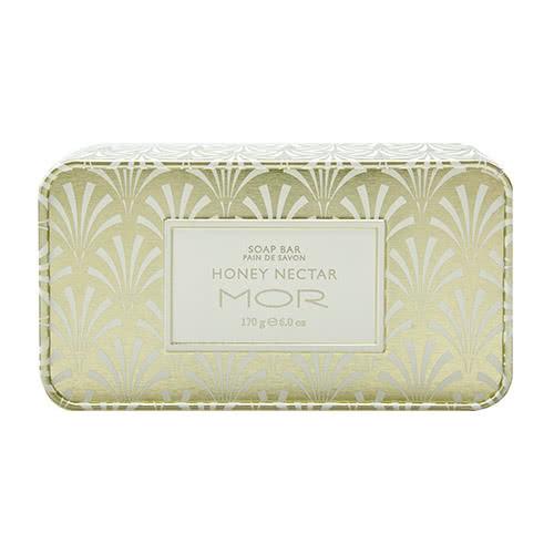 MOR Honey Nectar Soap in a Tin