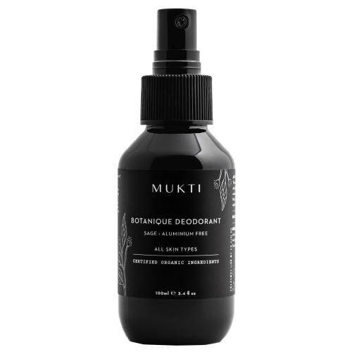 Mukti Organics Botanique Deodorant & Body Spray 100ml
