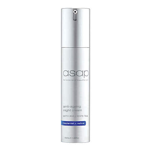 asap anti-ageing night cream 50ml