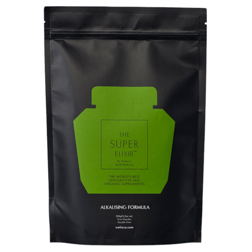 WelleCo SUPER ELIXIR Greens Pouch Refill 150g