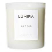 Lumira White Candle Sirocco 300g