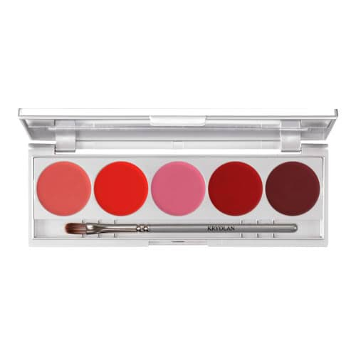 Kryolan Lip 5 Palette Performance by Kryolan
