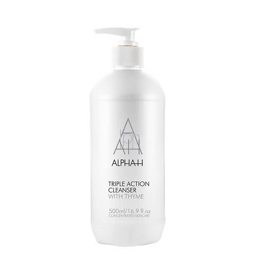 Alpha-H Triple Action Cleanser - 500ml Exclusive Value Pump Pack by Alpha-H