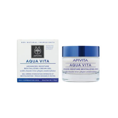 APIVITA Aqua Vita Advanced Moisture Cream-Gel for Oily/Combination Skin by APIVITA