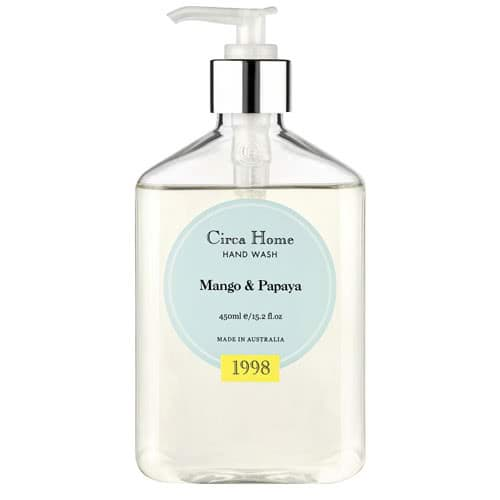 Circa Home Mango & Papaya Hand Wash 450ml	 by Circa Home Candles & Diffusers