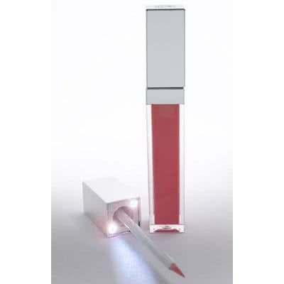 ModelCo LIP LIGHTS Glamour Gloss + Inbuilt Lights - Pink Sea Shell