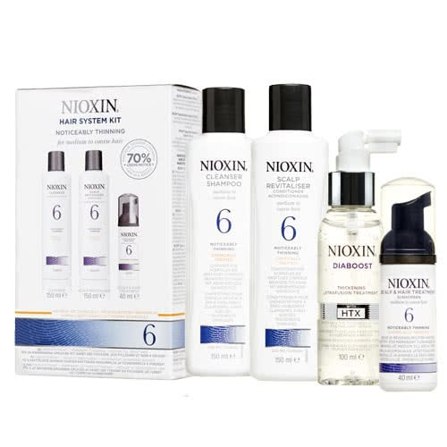 Nioxin System 6 Diaboost & Trial Pack by Nioxin