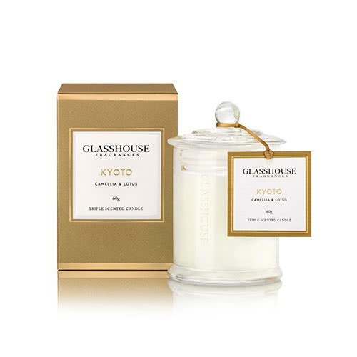 Glasshouse Kyoto Miniature Candle by Glasshouse Fragrances