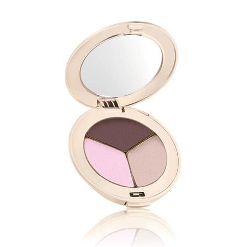 Jane Iredale PurePressed Eye Shadows: Triple - Pink Bliss (Part Shimmer) by jane iredale color Pink Bliss (Part Shimmer)