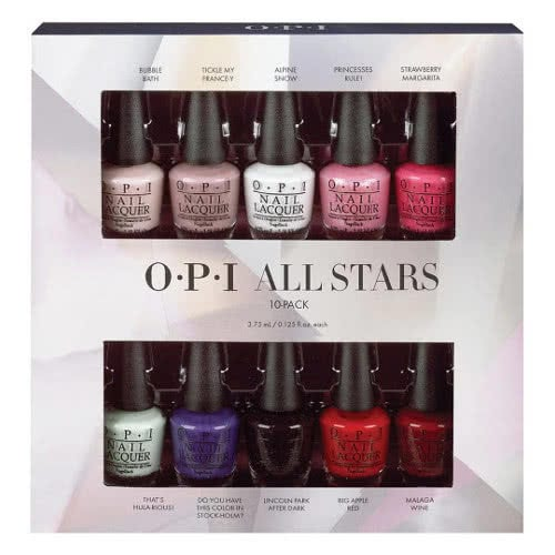 OPI All Stars Mini Nail Laquers 10 Pack by OPI
