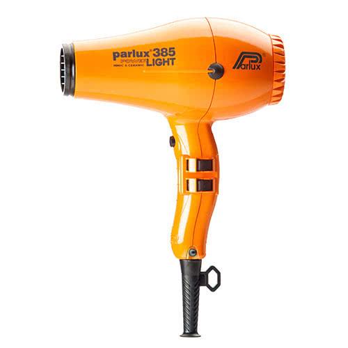 Parlux Power Light 385 Ionic & Ceramic Hairdryer - Orange