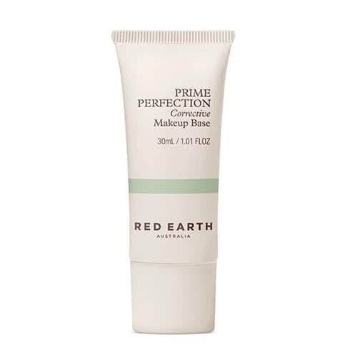 Red Earth Prime Perfection Corrective Makeup Base – Green