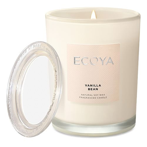 Ecoya Metro Jar Fragranced Candle - Vanilla Bean